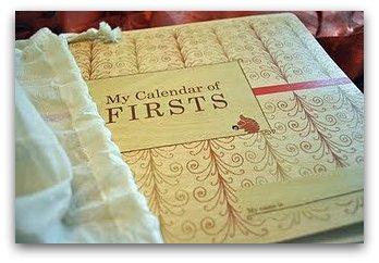 My Calendar of Firsts